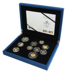 2012 Silver Proof Set Golden Jubliee for sale